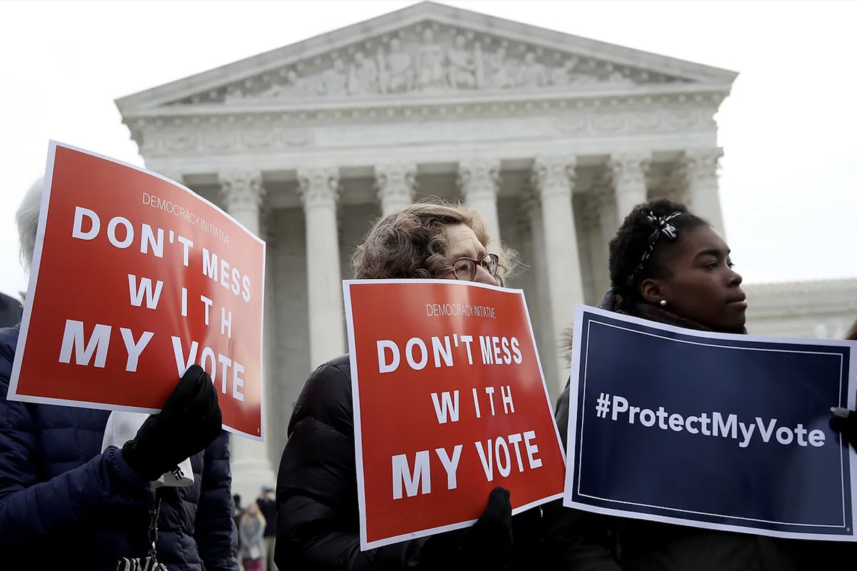 voting rights activists