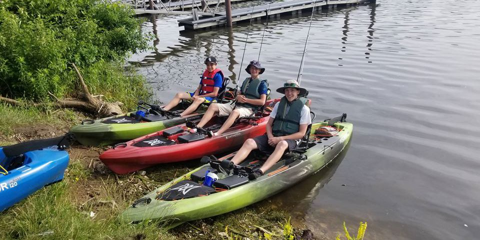 Kayak fishing: Add another option for summer camps