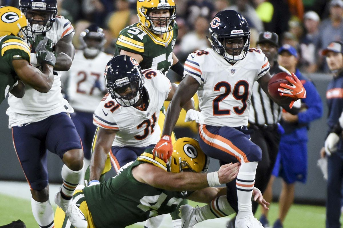 544358ca Bears vs. Packers: Notes from an embarrassing 24-23 loss - Windy ...