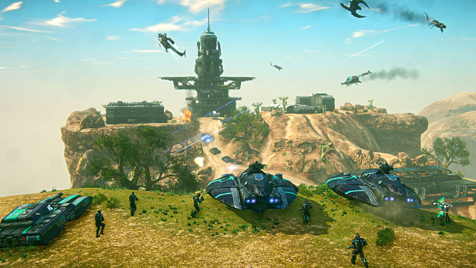 Take your firepower anywhere with PlanetSide 2's fleet ...  Take your firep...