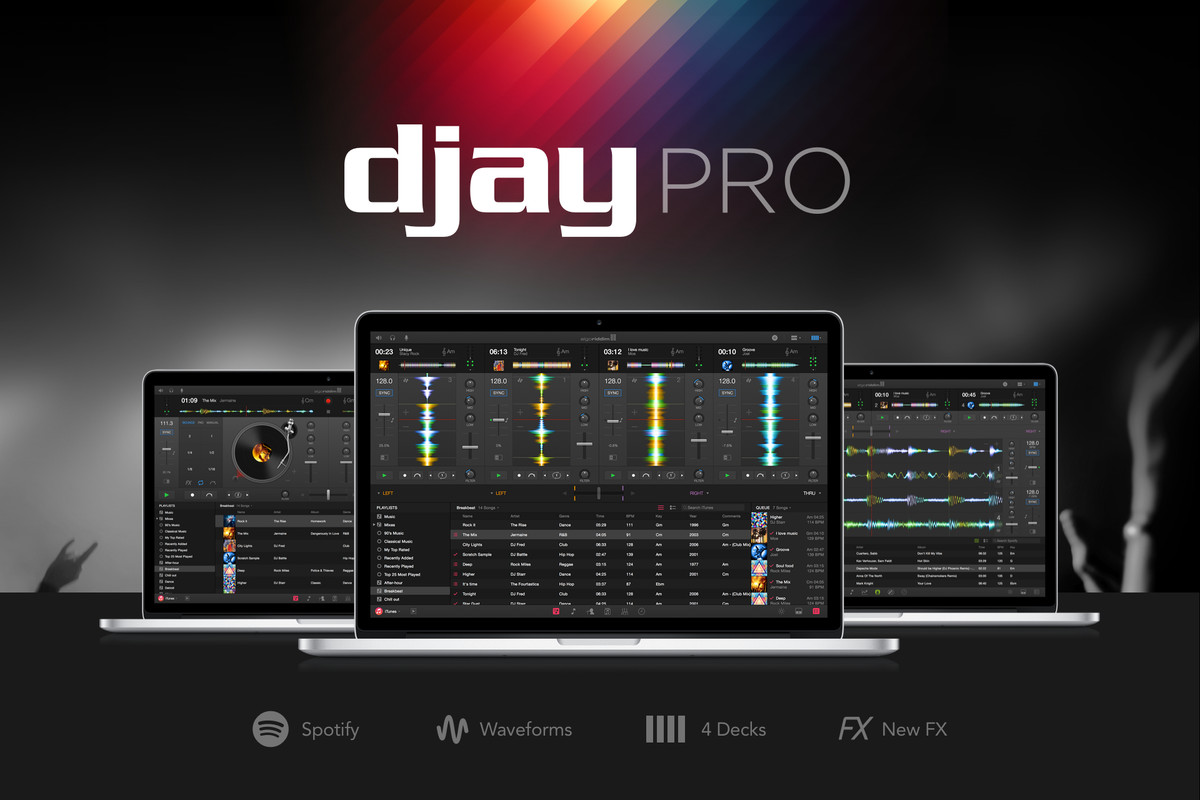 Djay Pro brings Spotify-powered mixes to the Mac - The Verge