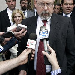 Federal prosecutor John Durham, shown in 2006,  has been chosen by Attorney General Eric Holder to investigate possible abuse of terror detainees by CIA interrogators as outlined in an internal CIA inspector general's report.