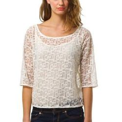 """Tessa lace top by Julienne W, <a href=""""http://shop.westonwear.com/index.php/just-in/tessa-ivy.html"""">$98</a>"""