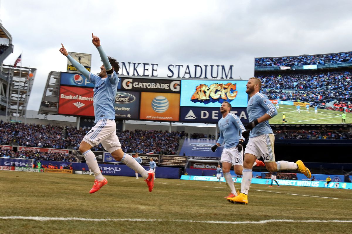 Can David Villa and NYCFC get revenge over the Union on their home ground?