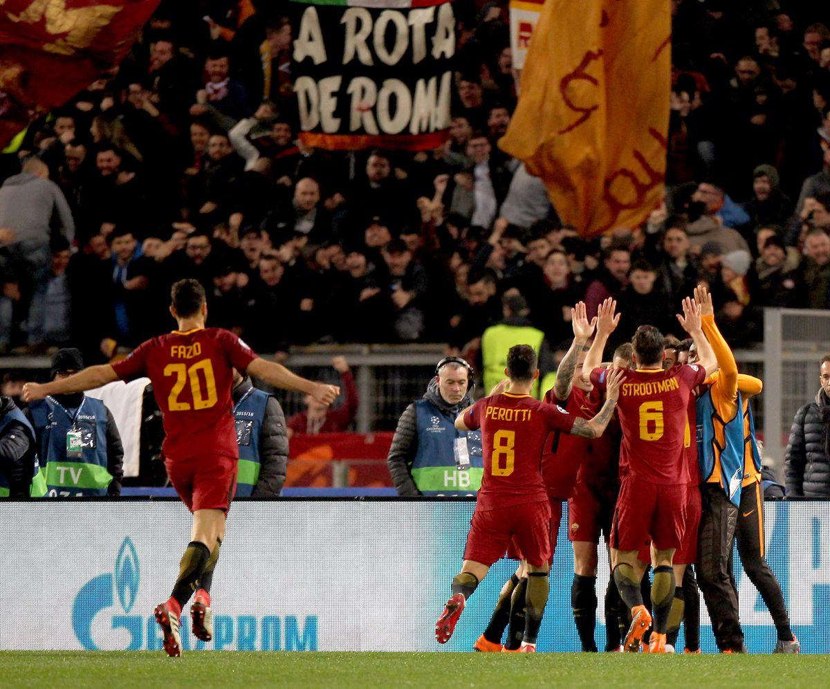AS Roma v Shakhtar Donetsk - UEFA Champions League Round of 16: Second Leg