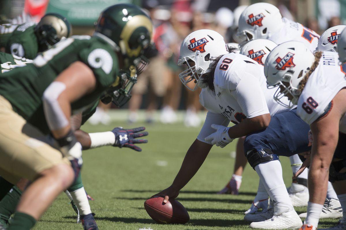 NCAA Football: Texas-San Antonio at Colorado State