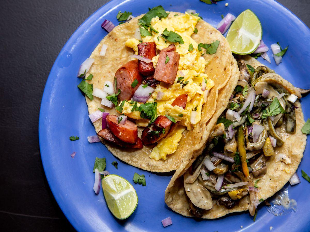 Tacos at El Tesoro in Edgewood