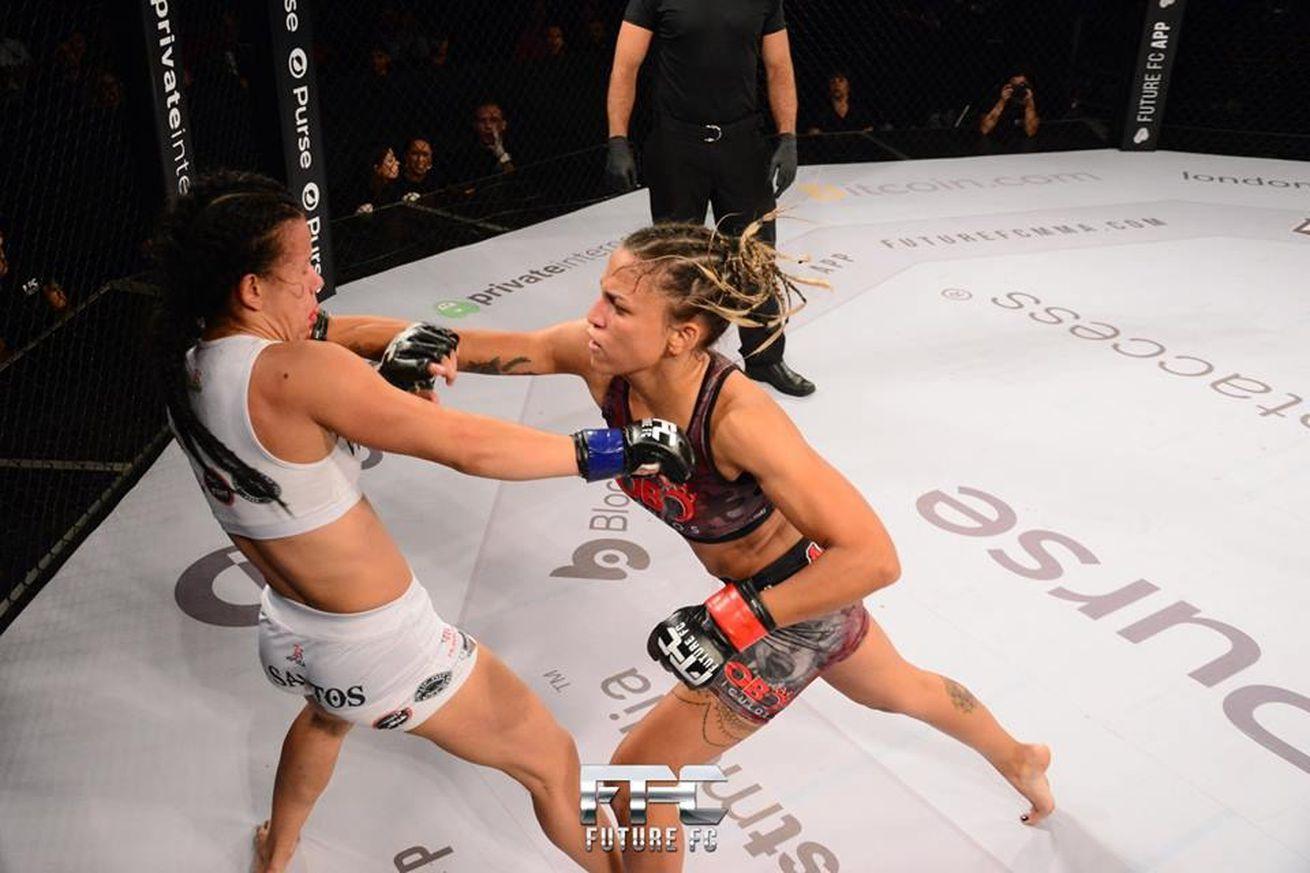 Monique Adriane recently beat Vanessa Santos by second-round TKO at Future FC.