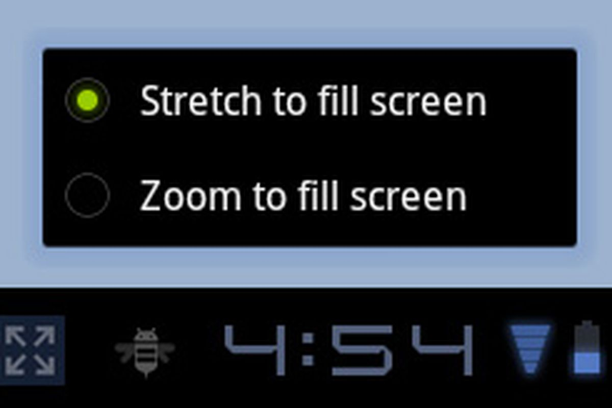 Android 3 2 getting new 'zoom' mode for small apps on big