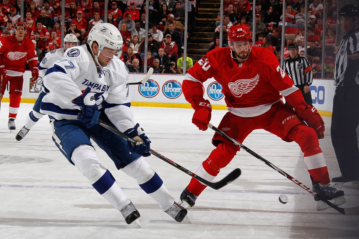 Tampa Bay Lightning At Detroit Red Wings Game 3 Broadcast Info Live Twitter Stream And Game Thread Raw Charge