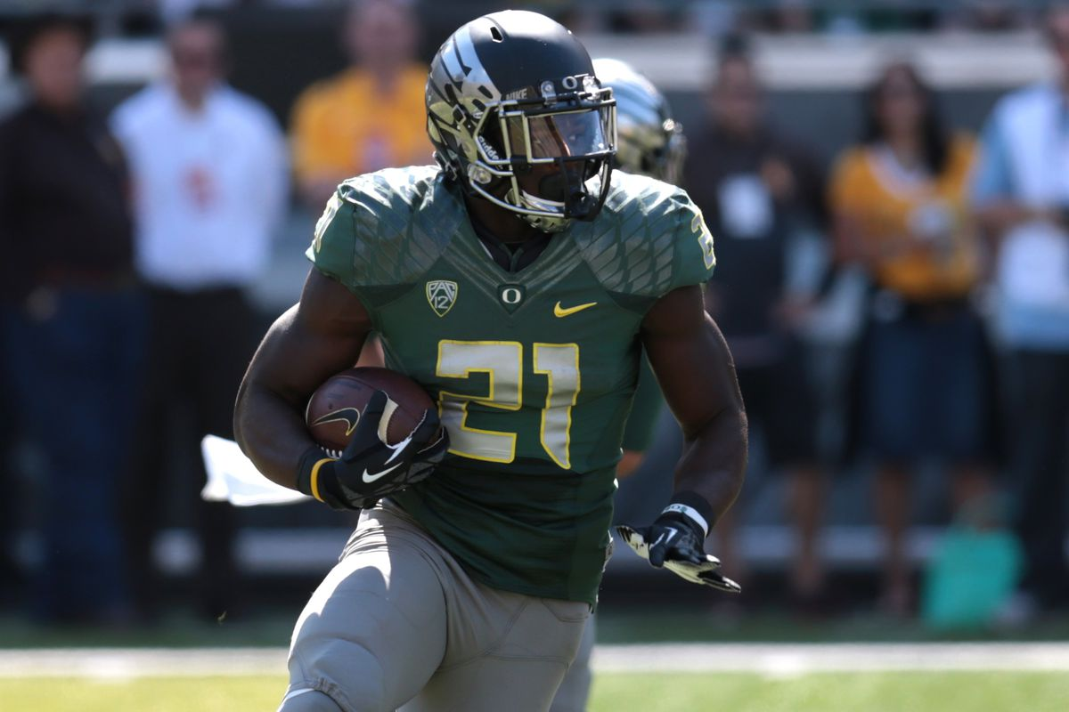Royce Freeman, get ready for your closeup