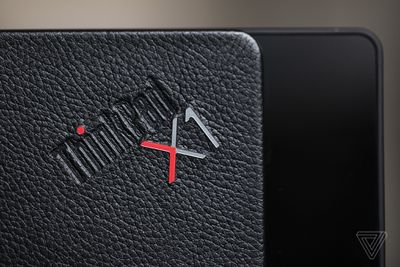 The ThinkPad X1 Fold logo.