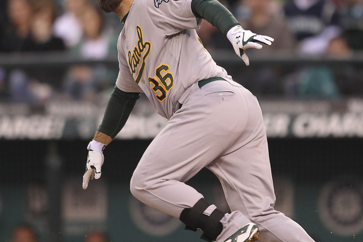 Derek Norris - slugging his way into the hearts of A's fans one HR at a time