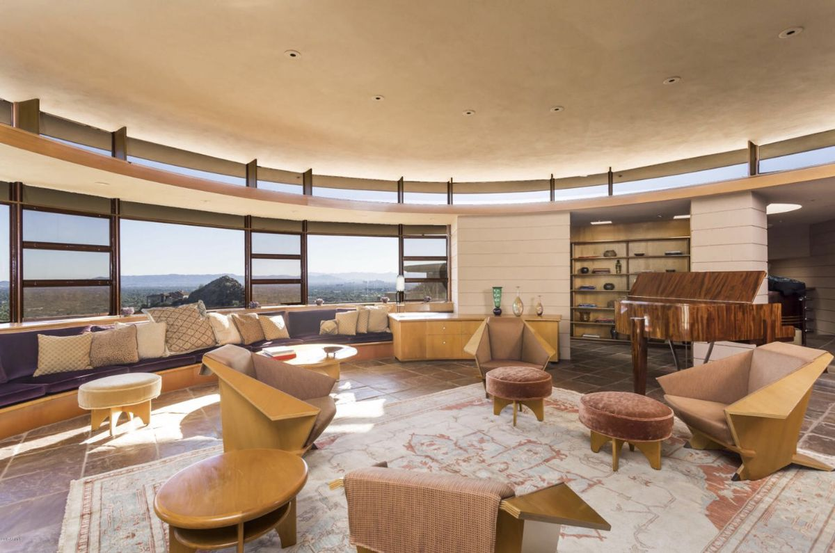 Frank Lloyd Wright S Phoenix Norman Lykes Home Back On The