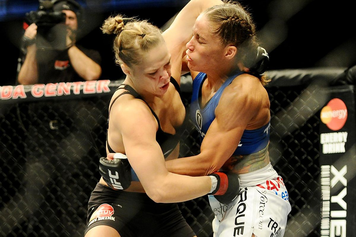 ronda rousey vs liz carmouche turned out to be the perfect storm