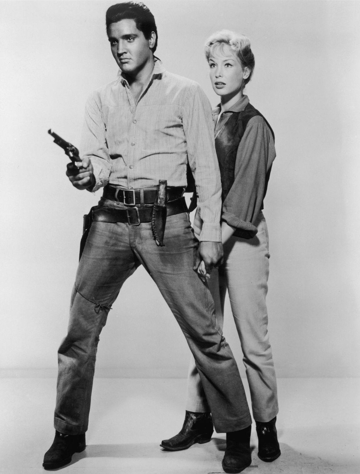 Elvis Presley blue jeans