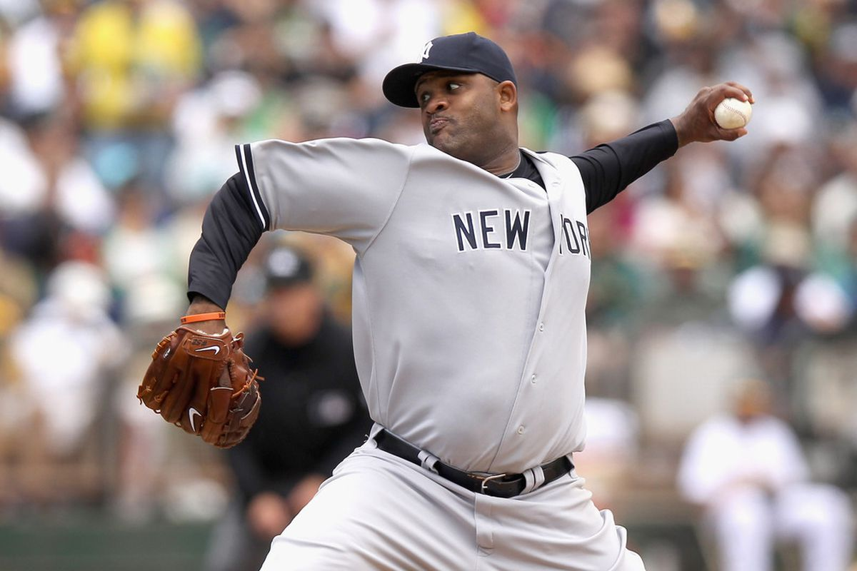 The Yankees will hand the ball to ace CC Sabathia Friday night against the Detroit Tigers. (Photo by Ezra Shaw/Getty Images)
