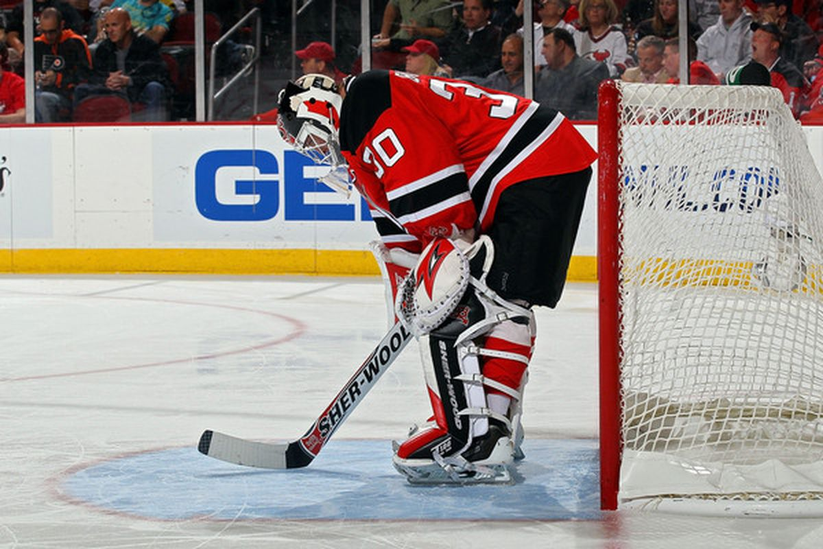 100% authentic 74b2d 977c0 The 15 Goals Martin Brodeur Gave Up in the 2010 NHL Playoffs ...