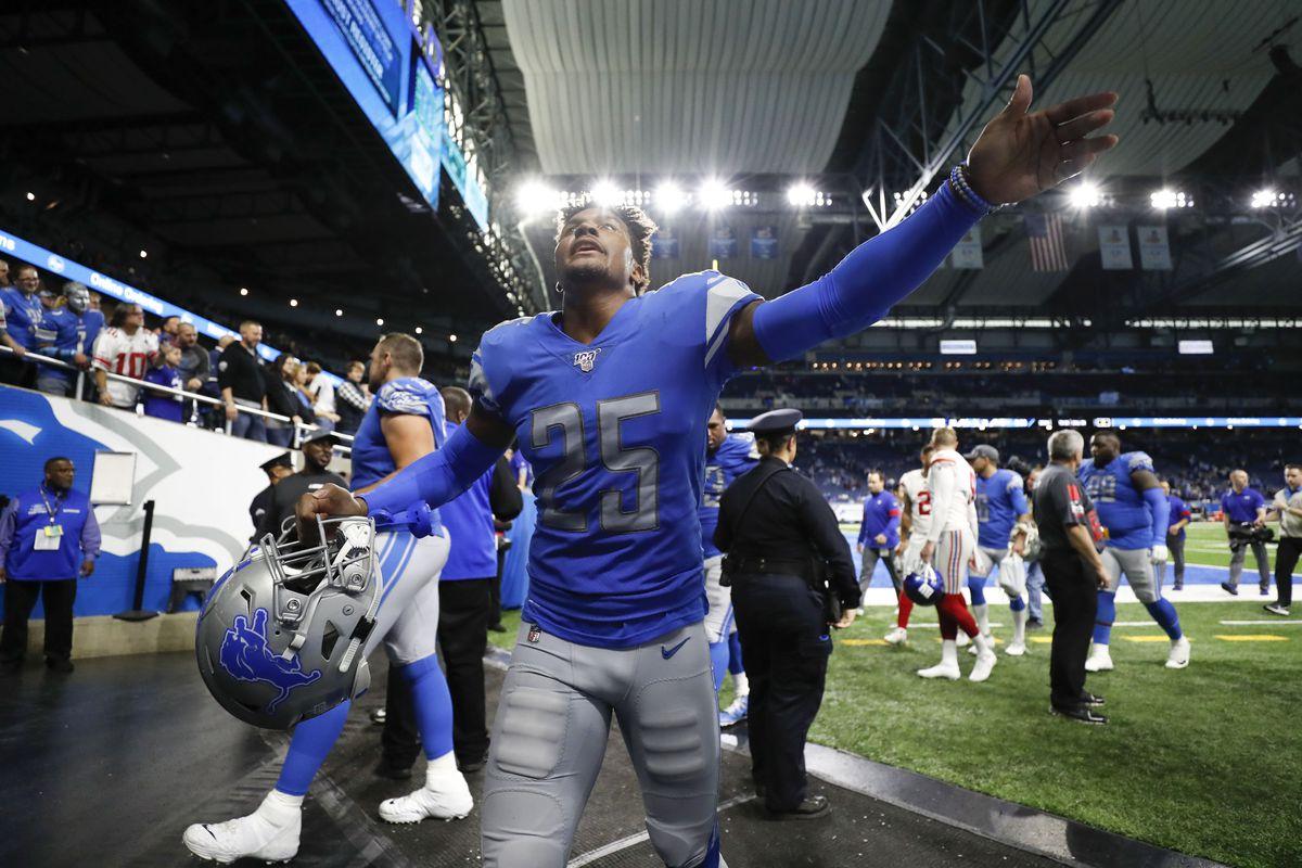 NFL: New York Giants at Detroit Lions