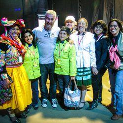 Alex Atala poses with Cocinas Regionales de Mistura