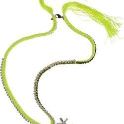 "<a href=""http://www.barneys.com/Alyssa%20Norton%20Vintage%20Rhinestone%20%26%20Silk%20Chain%20Necklace/00505013142377,default,pd.html?utm_source=GAN&utm_medium=ShopStyle.com&utm_campaign=Primary""> Alyssa Norton vintage rhinestone necklace</a>, $1000 barne"