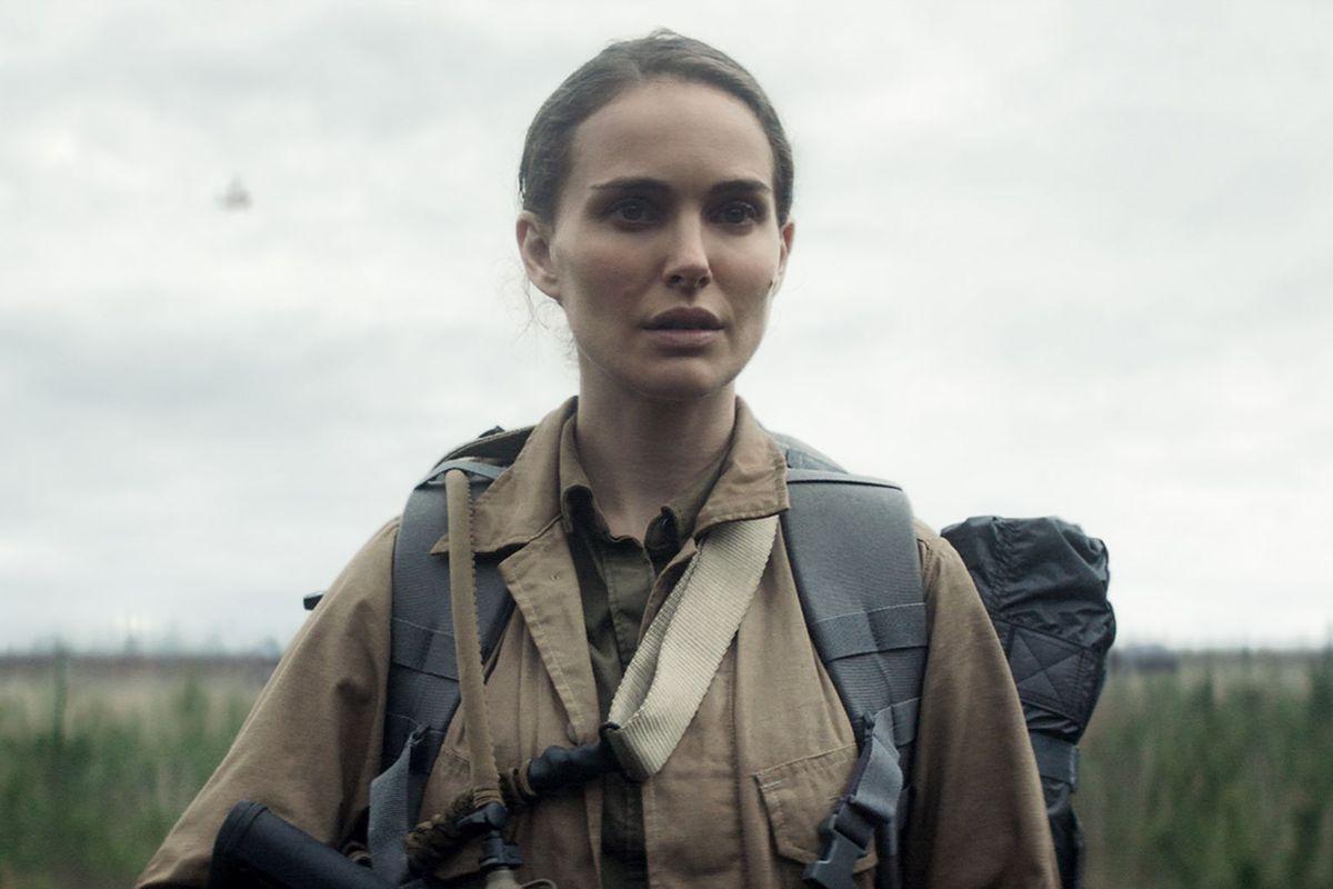 Natalie Portman stars in Annihilation.