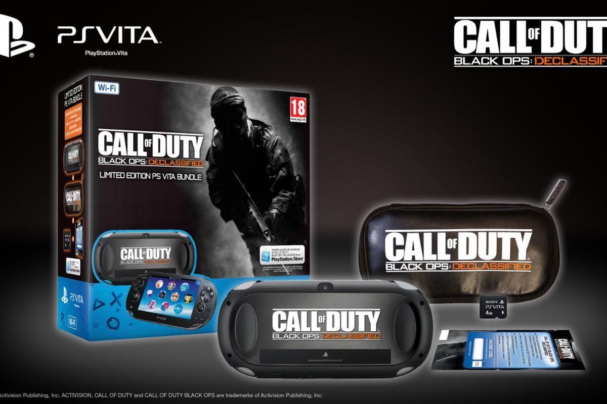 Black Ops 2 Declassified Vita bundle Europe 1000