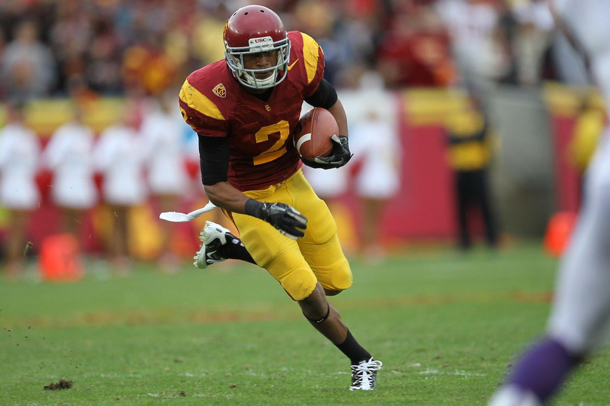 Believe it or not, Scouts Inc. thinks Robert Woods is just the 32nd-best draft prospect in 2013.