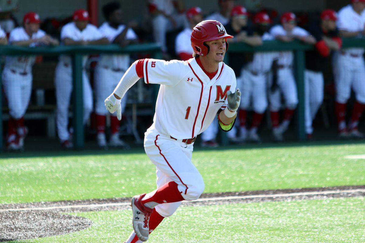 Maryland baseball Ben Cowles vs. James Madison