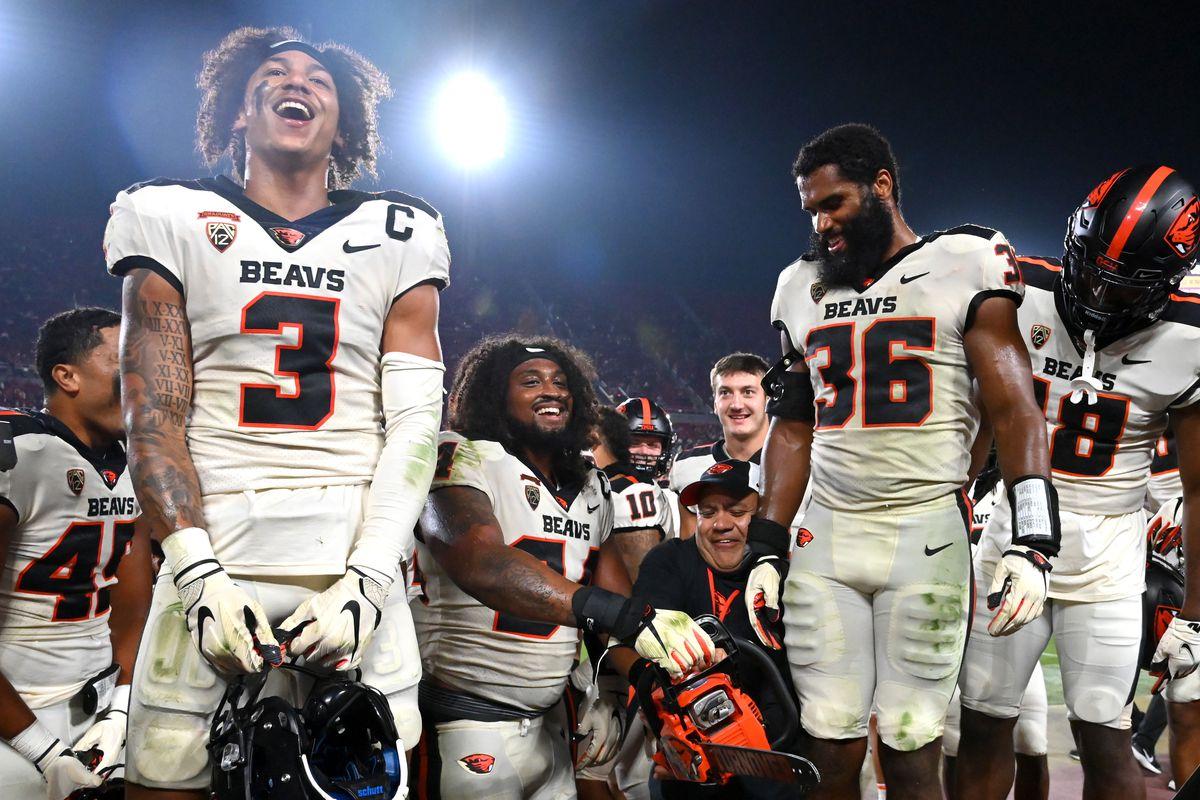 NCAA Football: Oregon State at Southern California