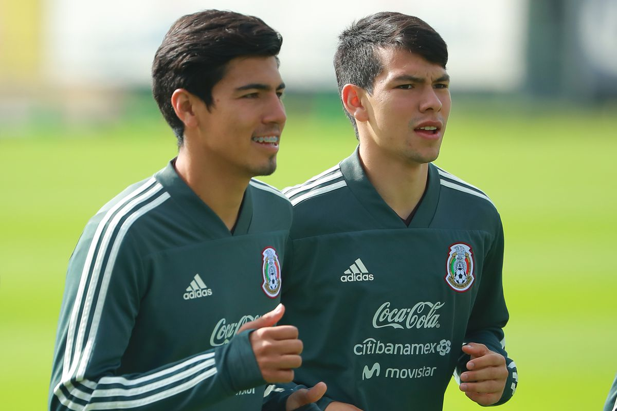 Mexico National Team Training Session and Press Conference