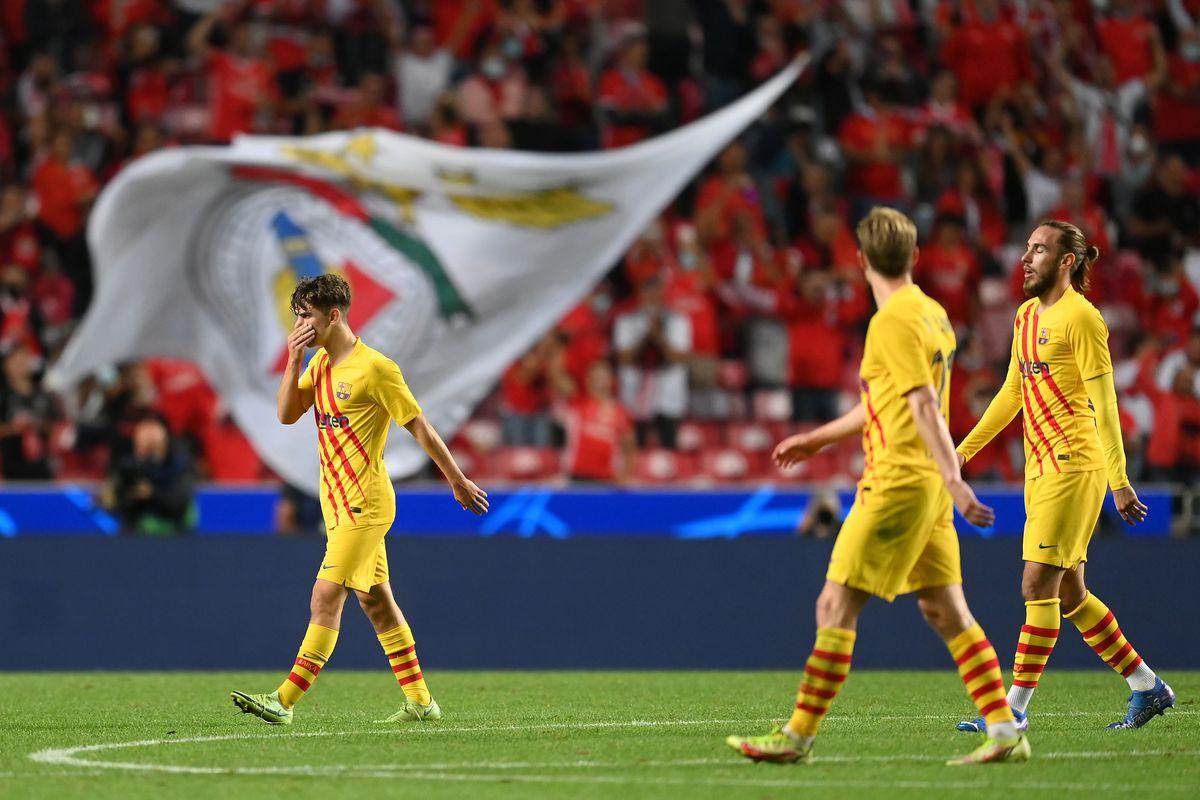 SL Benfica v FC Barcelona: Group E - UEFA Champions League
