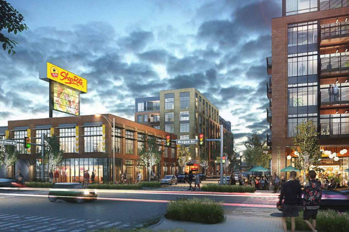 Developer Eyes Huge Mixed Use Project For South Philly