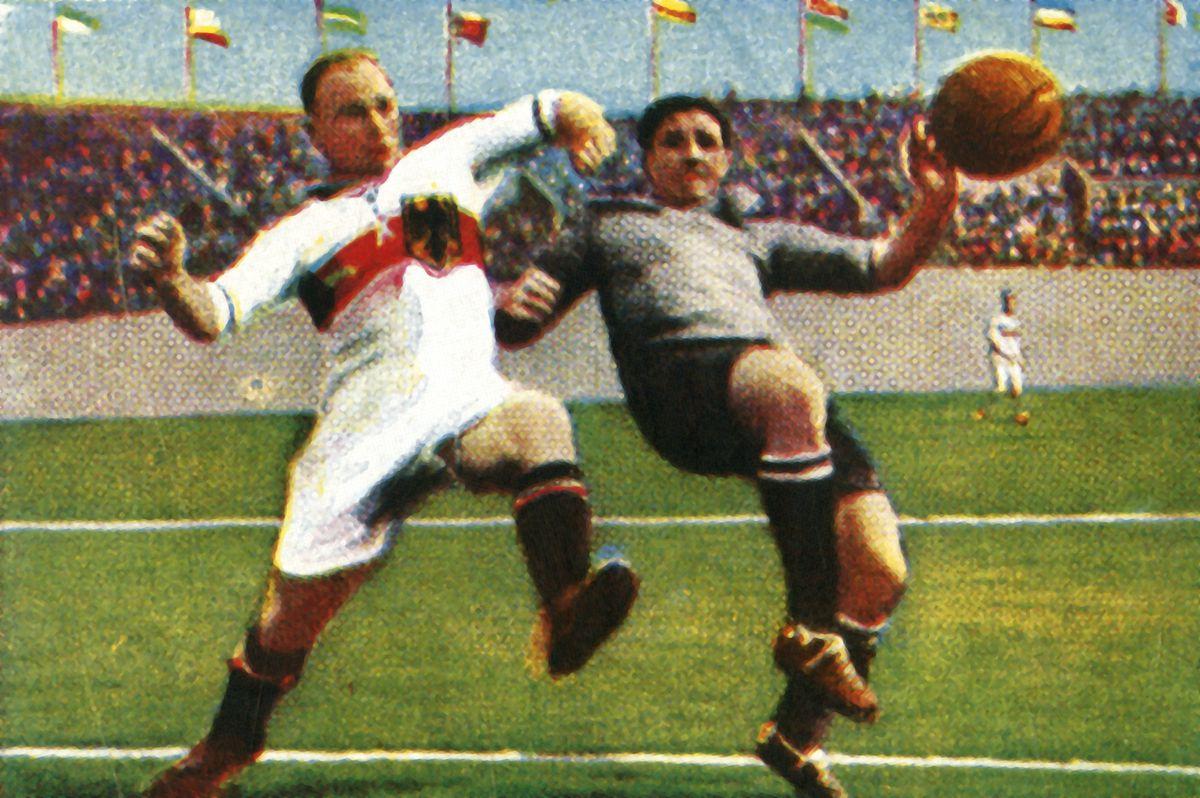 Germany-Uruguay Football Match