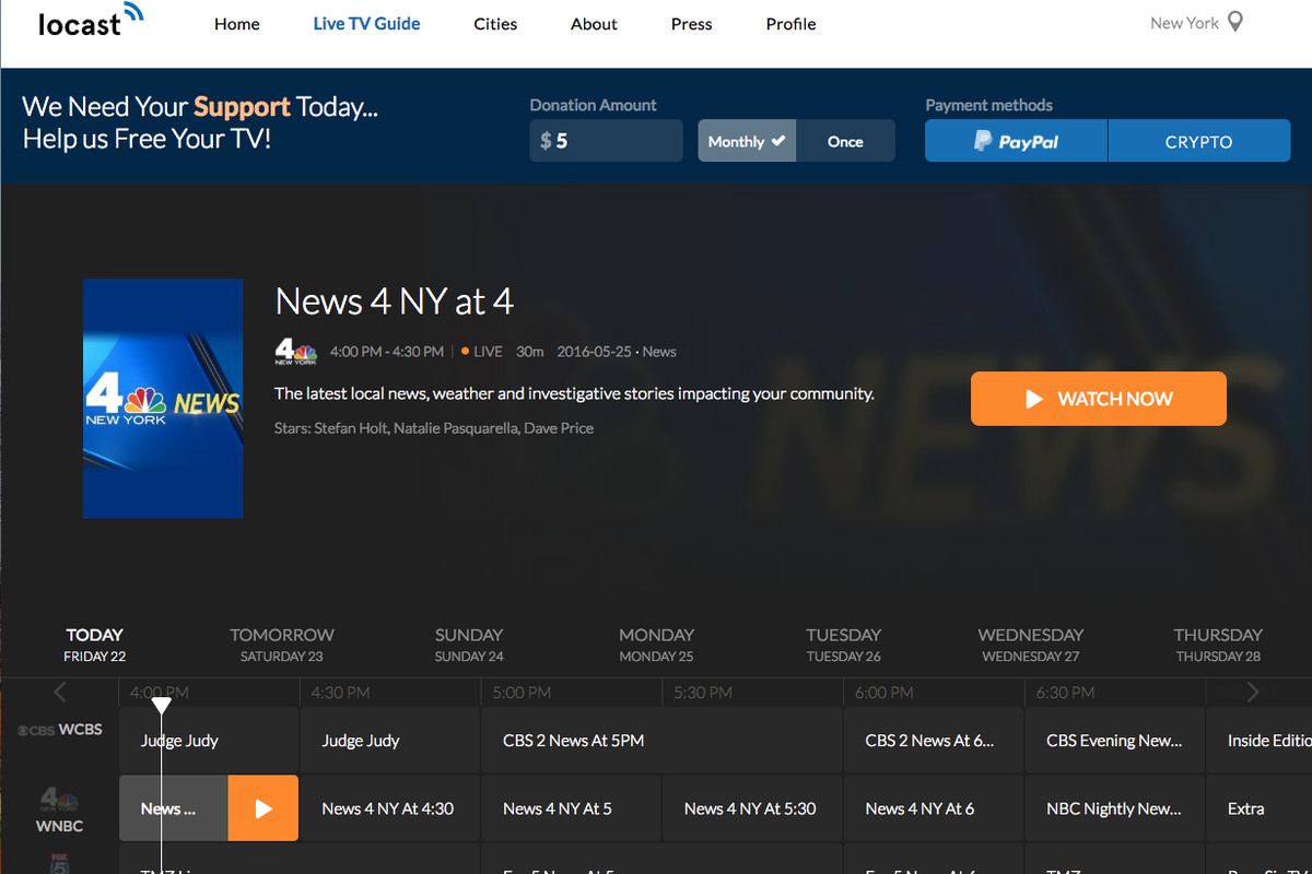 ABC, CBS, Fox, and NBC are suing free TV streaming app