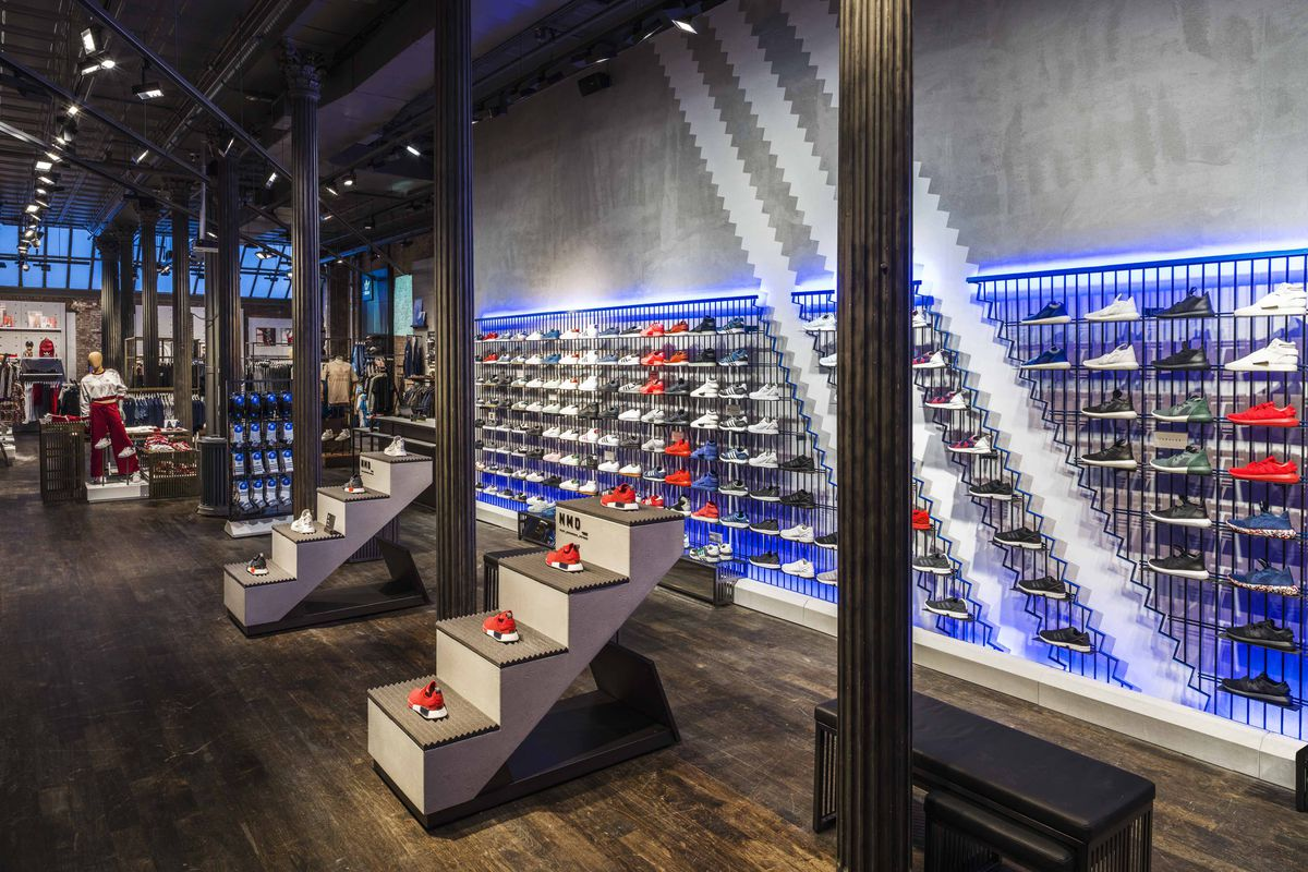 pas cher pour réduction 3d6a5 3dde9 Inside Adidas's Newest NYC Store - Racked