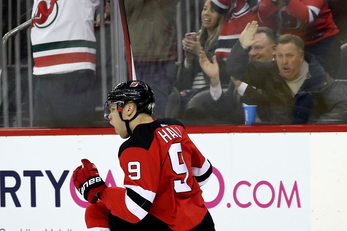 286207c3d I could not forsee Taylor Hall s outstanding and historic 2017-18 season.  Photo by Elsa Getty Images