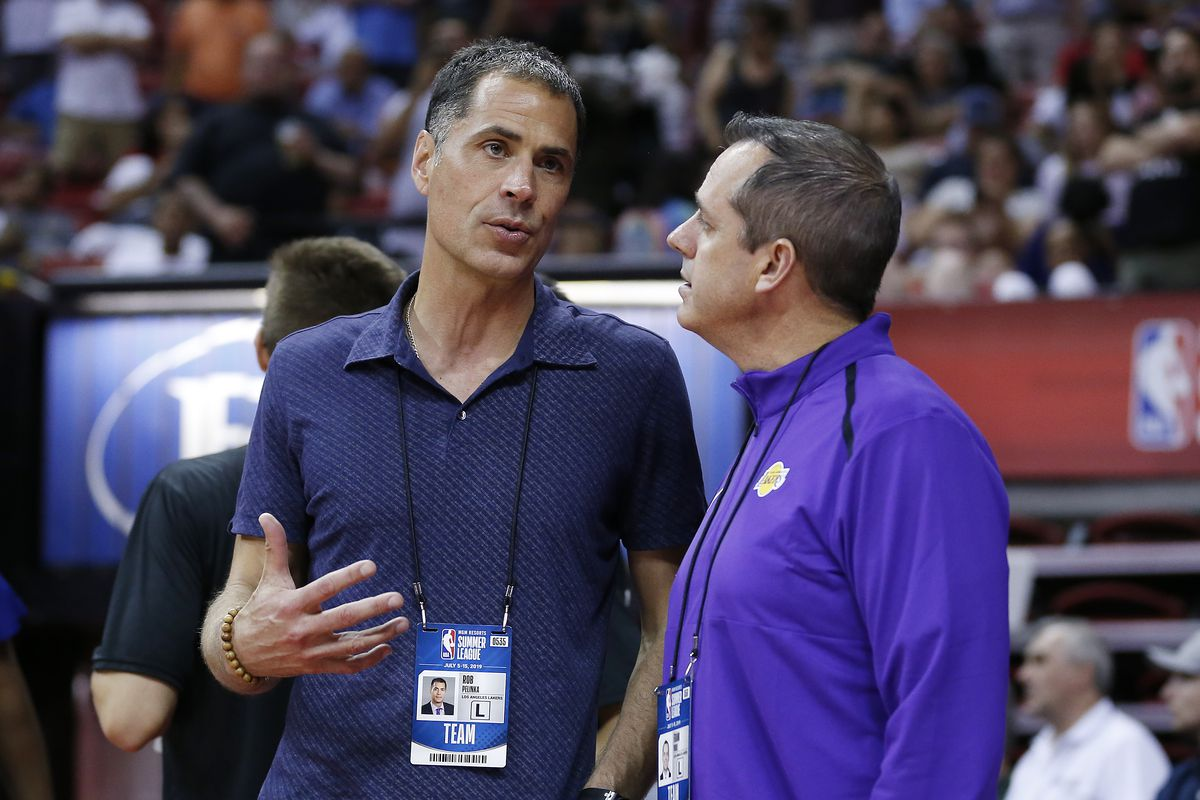 Rob Pelinka says Lakers will keep final roster spot open for possible buyout or trade candidates