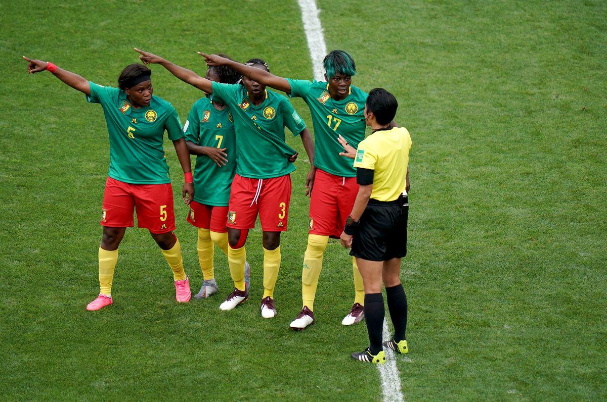England v Cameroon - FIFA Women's World Cup 2019 - Round of Sixteen - Stade de Nice