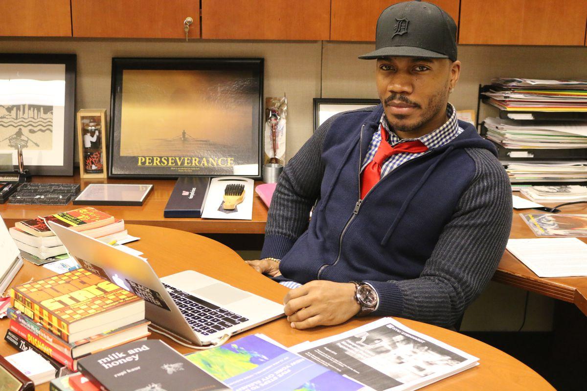 David E. Kirkland, executive director of NYU's Metropolitan Center, in his office.
