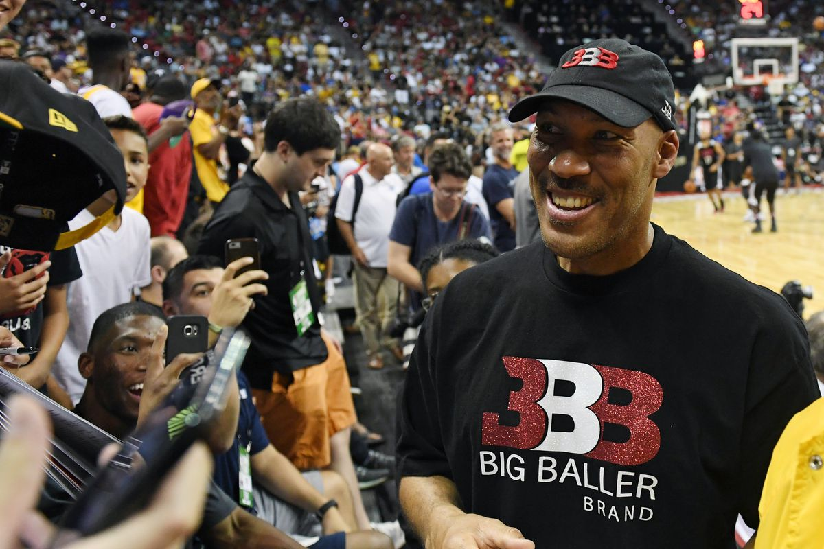 31e2e1f6c9c LaVar Ball  Championships coming for Suns if they play the three Ball boys  together