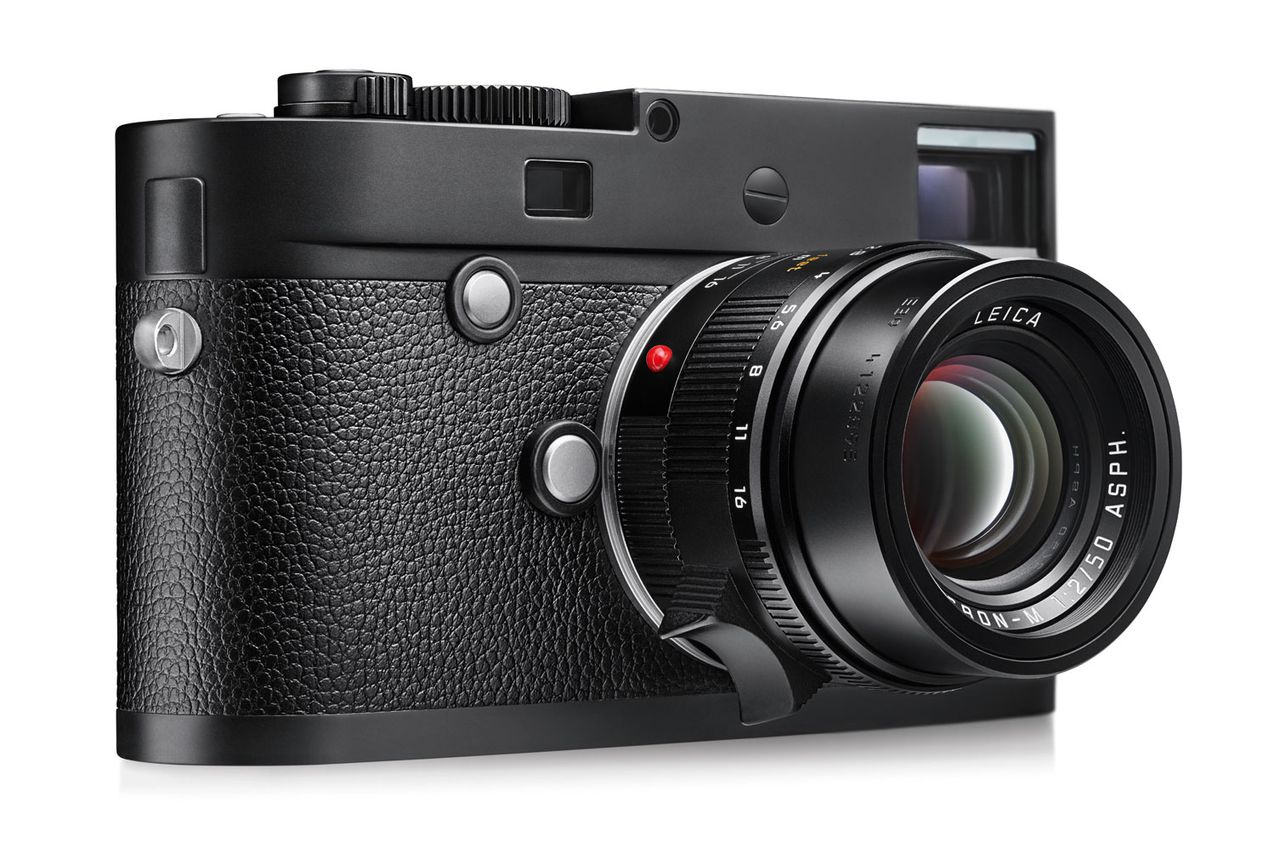 Leica has a new $7,450 camera that only shoots in black ...
