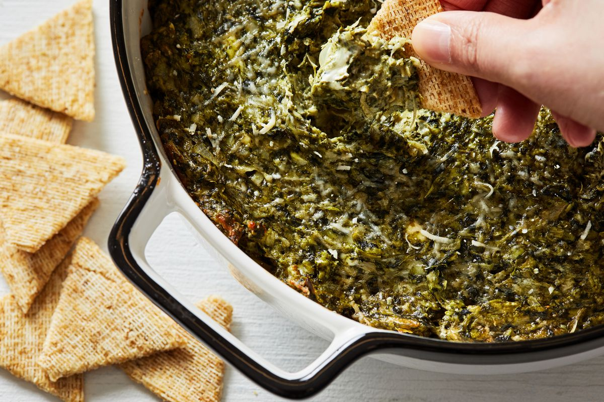 Voraciously roundup spinach and artichoke dip