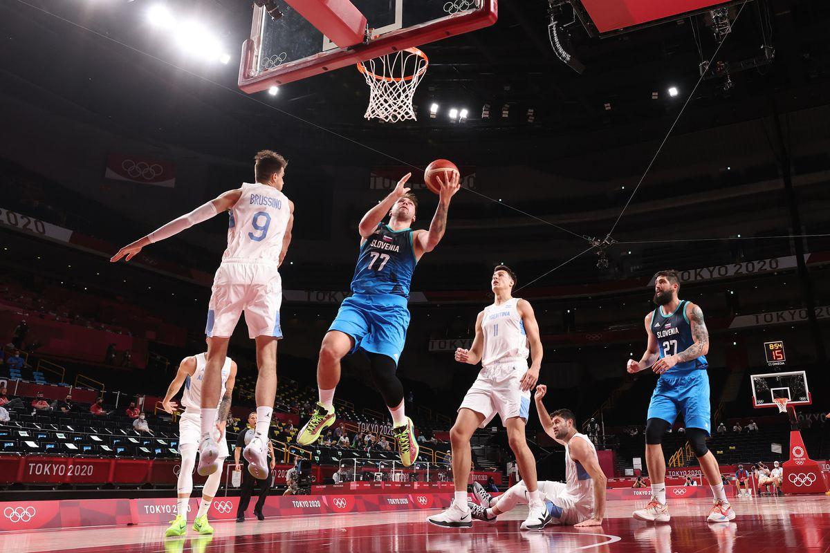 Argentina v Slovenia Men's Basketball - Olympics: Day 3