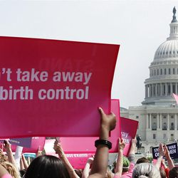 Planned Parenthood supporters rallied last month, while anti-abortion activists opposed the group's federal funding.