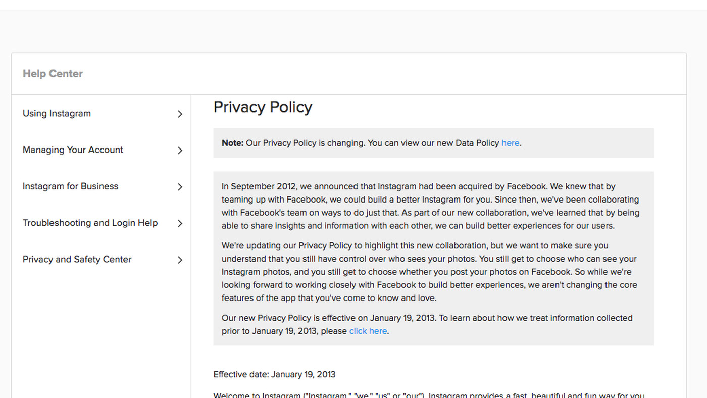 Privacy Policy >> How To Read Privacy Policies In Our Post Gdpr World The Verge