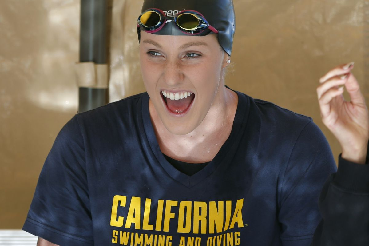 Yeah, it's a new photo of Missy Franklin in Cal gear!