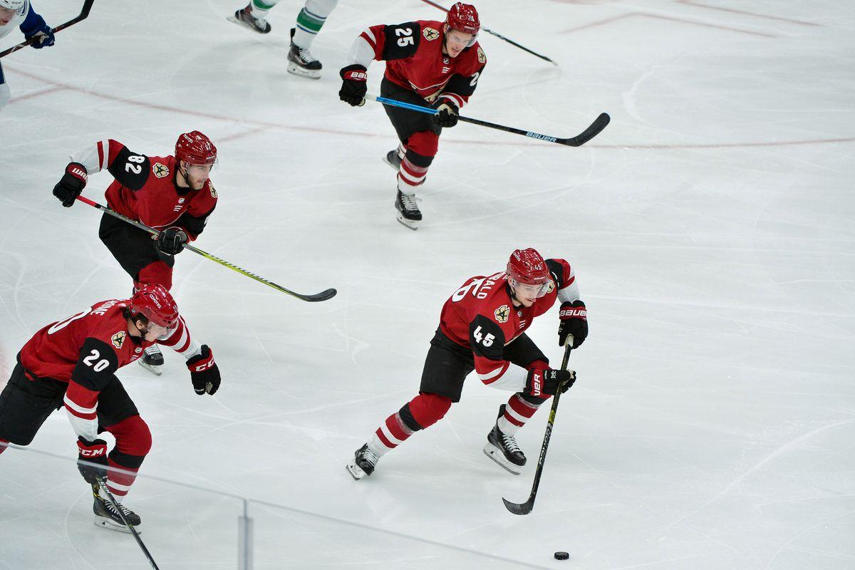 NHL: Vancouver Canucks at Arizona Coyotes