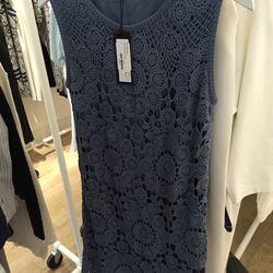 Floral crochet dress, $325 (originally $795)