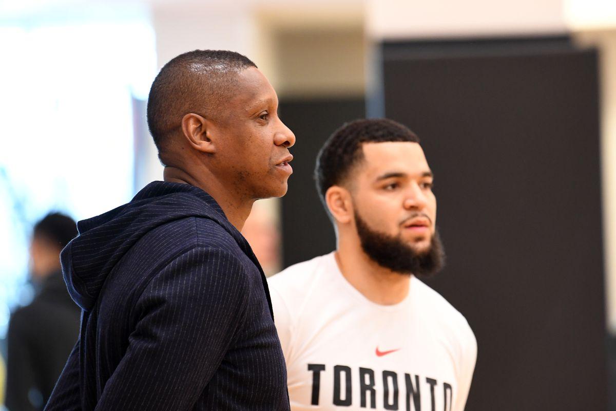 Toronto Raptors Practice